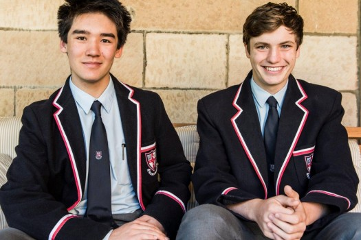 Head Prefect/ Head of Street Boarding House and Second Head Prefect/ Head of Rawson Boarding House.